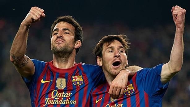 Messi, Fabregas kiến tạo hay nhất châu Âu