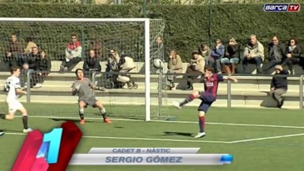 Top 5 bàn thắng đẹp tuần qua của cầu thủ nhí La Masia