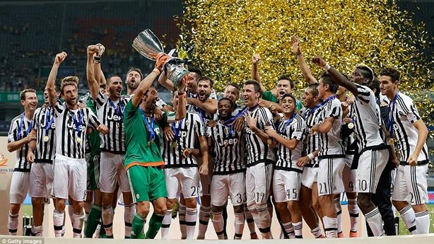 Highlights siêu cúp Italia 2015: Juventus 2-0 Lazio