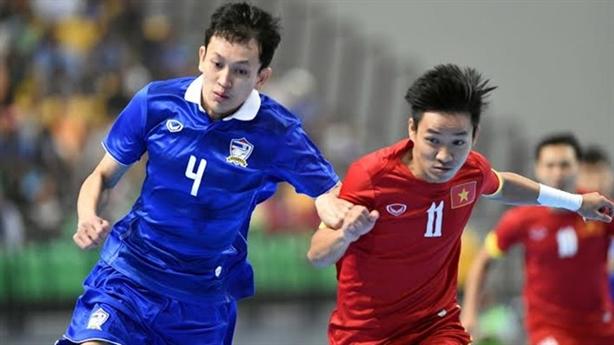 Hé lộ lý do khiến ĐT futsal Việt Nam thua thảm Thái Lan