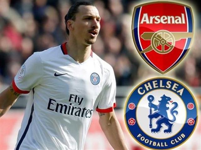 Chelsea và Arsenal có cơ hội sở hữu Ibrahimovic
