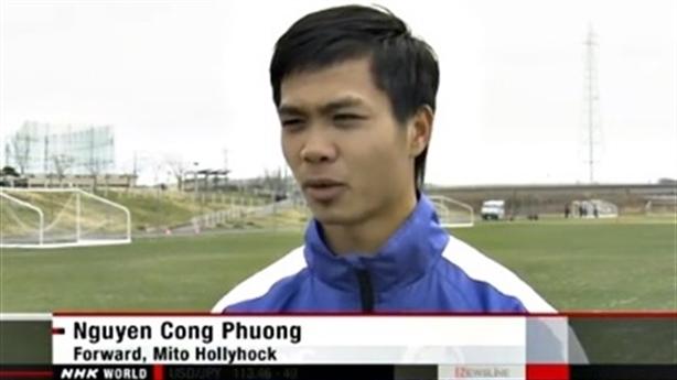 """Công Phượng được ví là """"Messi Việt Nam"""" trên truyền hình Nhật Bản"""