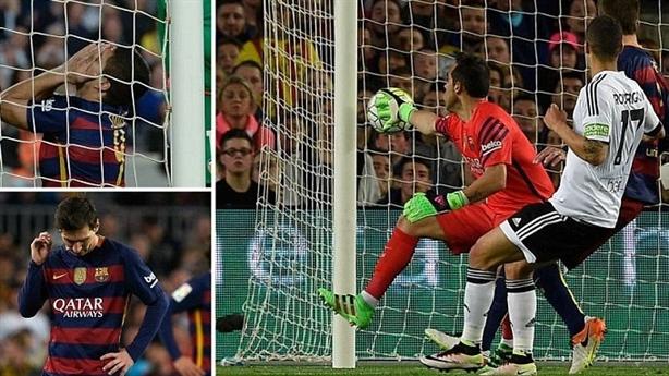 Highlights: Barcelona 1-2 Valencia