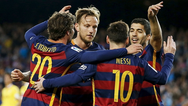 Highlights: Barcelona 6-0 Sporting Gijon