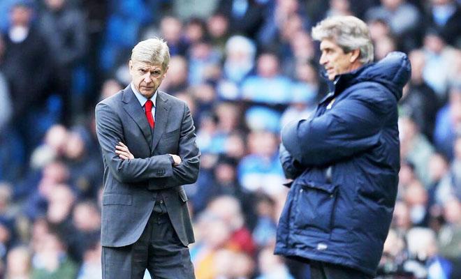 Arsene Wenger đòi cấm Man City dự Champions League