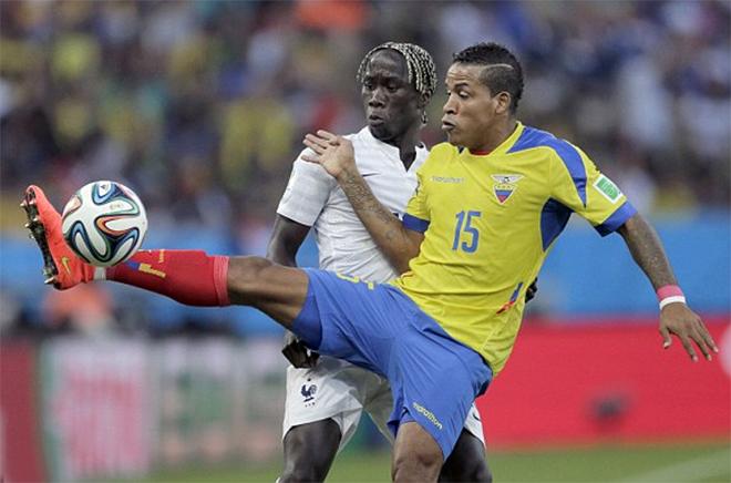 Video Pháp 0-0 Ecuador: Bất phân thắng bại
