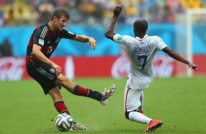 Video Mỹ 0-1 Đức: Muller nổ súng