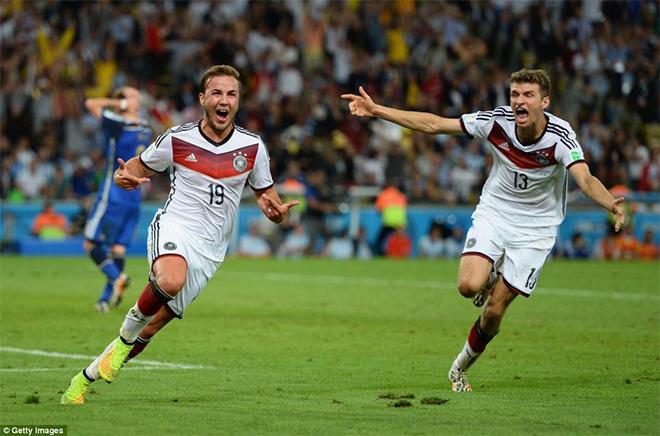 Video Đức 1-0 Argentina: Goetze tỏa sáng, Đức lần thứ 4 lên đỉnh thế giới
