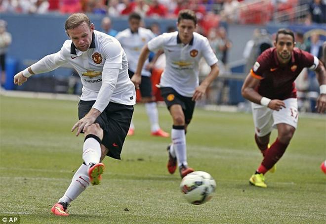 Video M.U 3-2 AS Roma: Rooney lập siêu phẩm